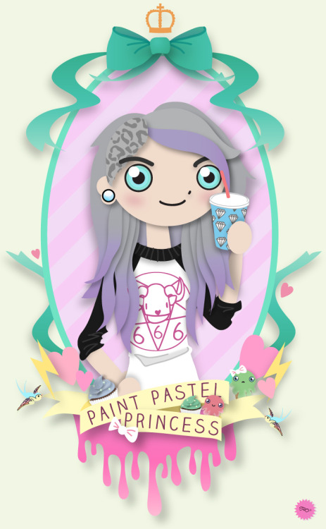 Paint Pastel Princess Final Edition Illustrator CS6
