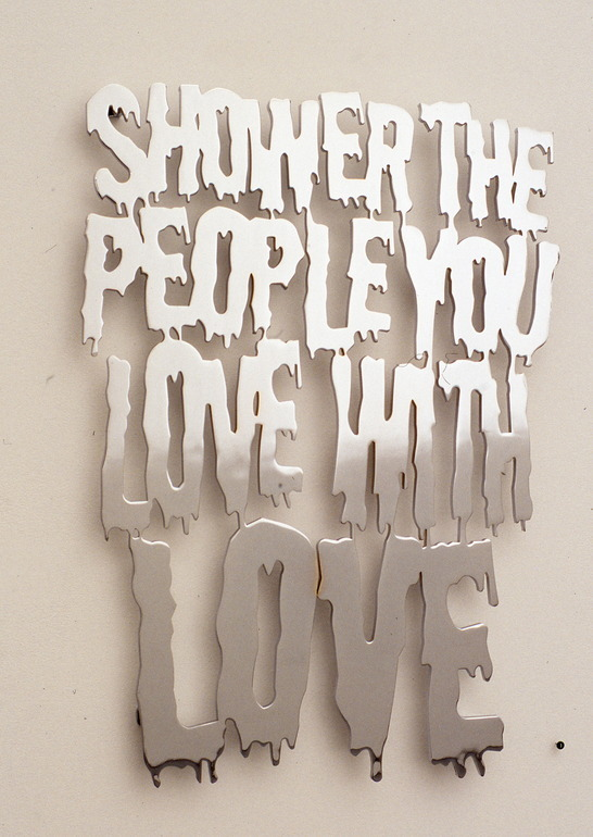 Allan Switzer, Shower the People, metal, 2004
