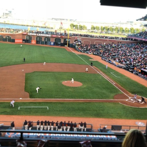 Working.  #PixarNight  #ATTPark  (at Symantec Suite 41)
