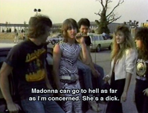 interestisfutile:  Madonna is a dick.