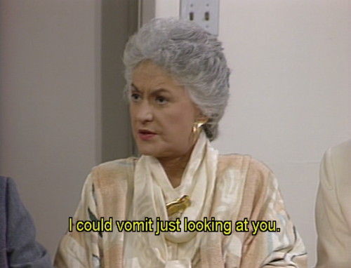 Bea Arthur,  you are my spirit animal.