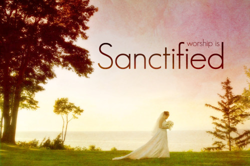 "Worship is Sanctified // ""Do you not know that the unjust will not inherit God's kingdom? Do not be deceived: those who sin sexually, idolaters, adulterers, male prostitutes, homosexuals, thieves, greedy people, drunkards, revilers, or thieves will not inherit God's kingdom. Some of you were like this; but you were washed, you were sanctified, you were justified in the name of the Lord Jesus Christ by the Holy Spirit."" - 1 Corinthians 6:9-12 Paul puts a very hard line down for what sins were most prevalent in culture, both then and now. The man who wrote three-quarters of the New Testament is telling us that if you screw around sexually (meaning pre-marital or homosexual indulgence), if you love the excess of drugs and booze, if you covet or worship things that aren't God like money or your car; you will be barred from heaven. God won't let you in. You can't go about and only apply the parts of the Bible that are convenient to you. It's all or nothing, either you believe it's all true or none of it is. It sounds hard because it is. But there is yet hope for us. God offers us each complete and total restoration, forgiveness, and grace. All we have to do is accept Him; to confess with our lives and believe in our hearts that Jesus came to earth to ransom us from Satan's grasp. That He died to pay for our sins and that He rose again to overthrow death forever. But when you receive this grace something else has to change. Saying you're sorry doesn't cut it; God wants to see repentance, a complete 180 from where you were. It doesn't matter how many steps away from God you take, He's only one step back.  ""But whoever is united with the Lord is one with him in spirit. Do you not know that your bodies are temples of the Holy Spirit, who is in you, whom you have received from God? You are not your own; you were bought at a price. Therefore honor God with your bodies. (1 Cor 6:17, 19-20)"" After you choose to follow Christ you become sanctified. Sanctification means to be ""set apart for a specific purpose."" When you take the Spirit into your heart you are housing God Himself, not just the ""essence of God"". The Holy Spirit is just as much a feeling, living person as Jesus and God. One of my friends likes to say that many Christians view the Trinity as, ""Two and a Half Men."" The Holy Spirit is just as much God as Jesus is. That is a talk for another time, but we must walk our lives accordingly. Live a life worthy of their sacrifice because you were bought twiceover. First God made you and then He died again to save you. You have been set apart for God. It's time to live like it."