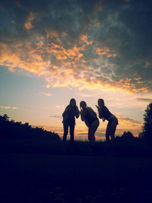 #sunset#beautiful#inliner#girls