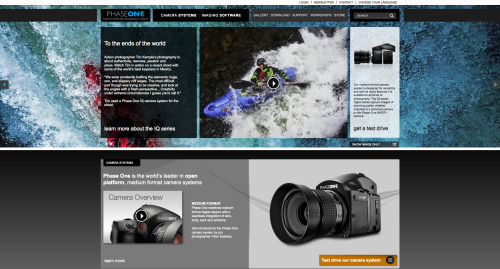 Featured Photographer on Phase One Site I was lucky enough to get to play with a bunch of new Phase One equipment the past couple months and they are starting to share some of the imagery on their site. Check it out.