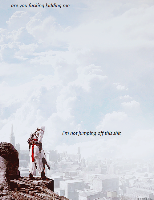 blacklightarene:  This is my favorite Assassin's Creed post ever