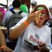 Buenos Aires: Amantes de la pizza participan de una nueva edición de Muza 5K, una maratón que consiste en caminar más de cinco kilómetros a través de pizzerias de la avenida Corrientes con largada en la pizzeria 'El Imperio' de Chacarita. Fotos Guillermo Rodriguez AdamiMIRÁ LA FOTOGALERÍA HD