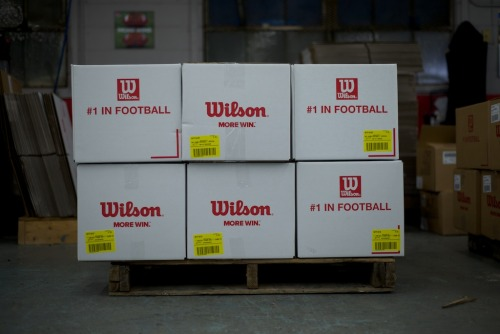 The Wilson Factory workers did their part. The balls are in your hands now, Joe Flacco & Colin Kaepernick.