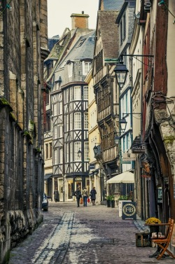 keepcalmandtraveltheworld:  Rouen, Normandy, France