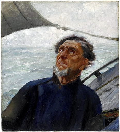 Krohg, Christian (1852-1925) - 1880c. Fisherman (Harvard Art Museums, USA) by RasMarley on Flickr.