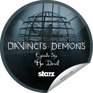 I just unlocked the Da Vinci's Demons: The Devil sticker on GetGlue                      1316 others have also unlocked the Da Vinci's Demons: The Devil sticker on GetGlue.com                  You checked-in during episode 106, 'The Devil,' and unlocked the Spherical Cage sticker. A dastardly device of iron and steel, only the sharpest mind can unlock this deadly conundrum.  Share this one proudly. It's from our friends at STARZ.