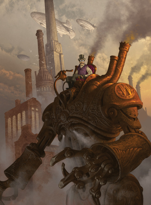 doctormonocle:  The Age of Steam by Antonio Caparo