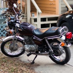 She needs a name - my 1982 Honda cm200t twinstar