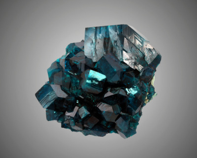 lapidarist:  dioptase at the natural history museum of los angeles county (flickr photo stream)