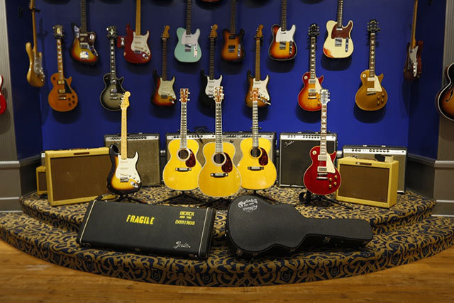GALLERY: Guitar Center Eric Clapton Crossroads Collection 2013