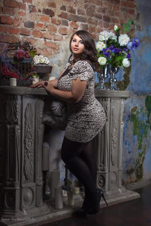 plussizemodelalexandra:Photo by Igor Rabochihh Model Alexandra Shcherbakova