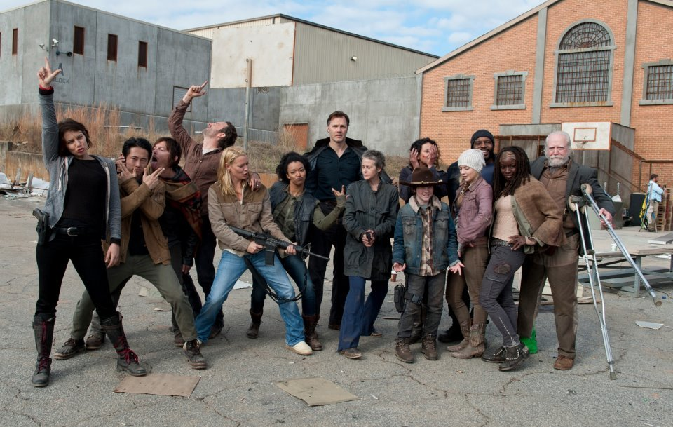 The Walking Dead cast Adorable!