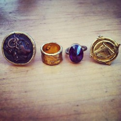 Rings  #jewlery #rings #fashion #gold #vintage