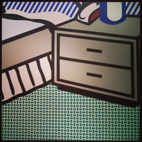 Lichtenstein details…with @somedaycharlene