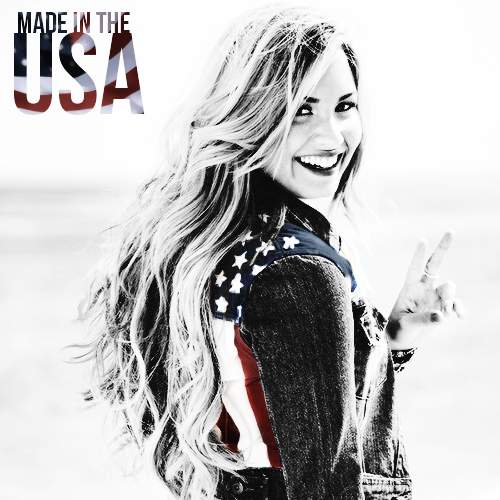 Made In The USA - Demi Lovato fanart cover