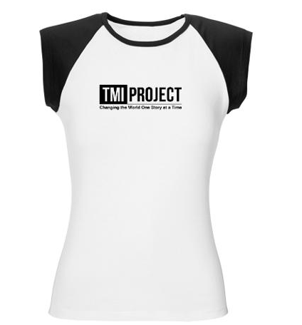 The non-profit I co-run, TMI Project, is now accepting personal essay submissions, for the Essays page on our website, and for future publishing projects.  We're branching out beyond storytelling and monologues as a way to extend our reach, which will help us to get more funding. It's also as a way for us to offer anonymity to participants from some of the populations we work with - survivors of domestic violence, LBGTQ kids who haven't come out to their parents, members of twelve-step groups, etc. They can publish their essays anonymously or pseudonymously on our website, or in the essay collections we have planned, something they can't do in a staged show. I'm sorry to say that, being a start-up non-profit, we can't afford to pay, but if we choose your essay - and it is fairly competitive - we'll send you a cute tee shirt. And you'll get to do a little mitzvah for a non-profit that helps people who don't usually get to tell their stories be heard. Submission guidelines here. Spread the word?