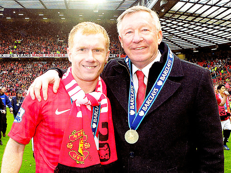 """Today it was just nice to get through the game. I thought Sir Alex handled it well, he spoke really well and he has done a fantastic job here. I know it's the right time for me to go."" - Paul Scholes"