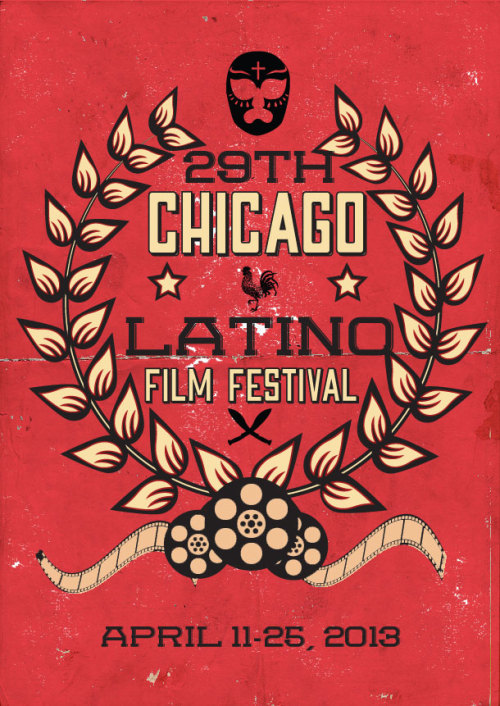 An Entry I did for the Chicago Latino Film Festival…Didn't win but I love this design