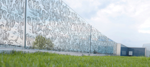 Una serie di illustrazioni realizzate per CROMOGLASS di Montebelluna (Tv) e stampate su vetro in grande formato per decorare abitazioni private ed ambienti pubblici
