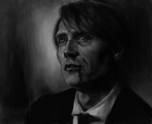 pseudolirium:  study of hannibal and his sparkly eyes (x)