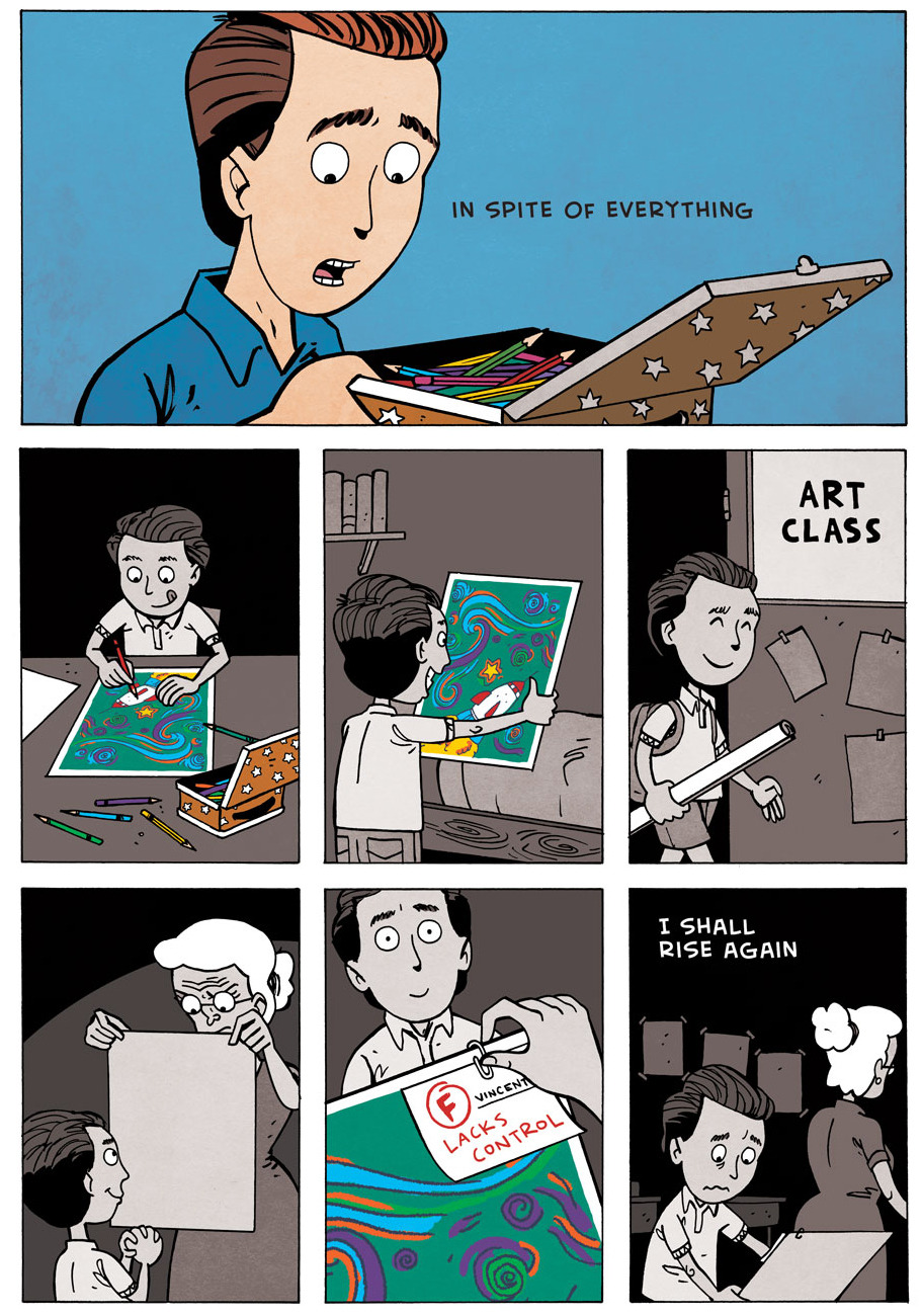 jugulate:  zenpencils:  Vincent Van Gogh - 'In spite of everything'   Love this.