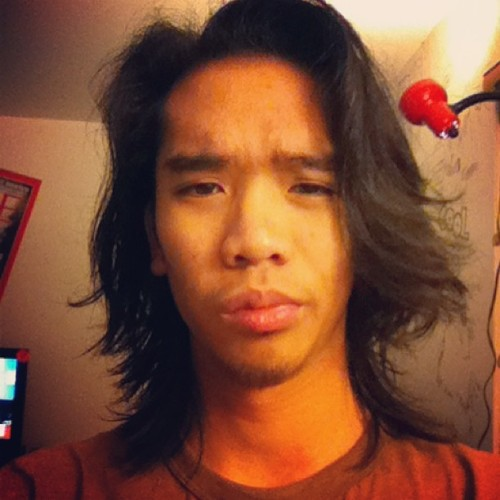 Long hur don't curr! Haha 😁 before my haircut #tbt #throwback #instagood #instamood #instadaily #throwbackthursday #iphonesia #follow #iphoneonly #picoftheday #iphoneography #bestoftheday