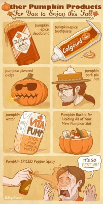 """thelonelyscarecrow:  octoberseason:  spicedapple-autumnwitch:  IT'S SO FESTIVE!!!  Favorite post? YES.  Yes, all of it.   i lost it at """"new pumpkin shit"""""""