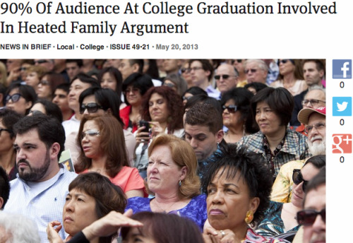 90% Of Audience At College Graduation Involved In Heated Family Argument: Full Report