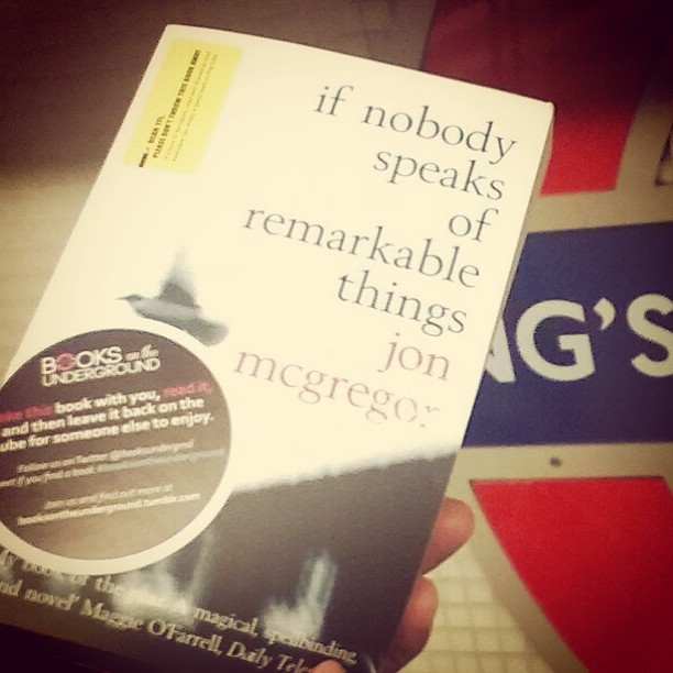 Thanks to @johntleeds for his donation to #booksontheunderground