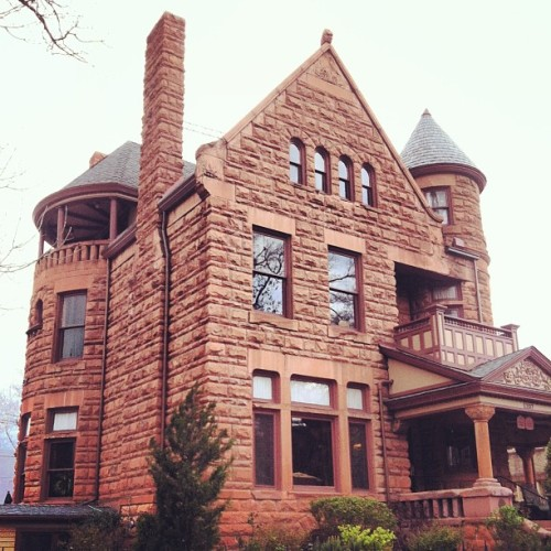Capital Hill Mansion, another awesome building in Denver. #architecture #stone #capitalhill #denver #mansion