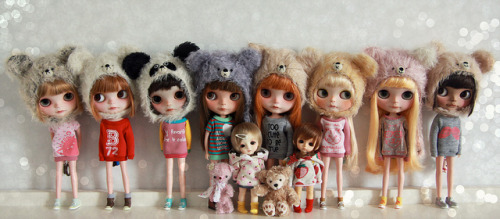 i love my dolly family. by Simmi. on Flickr.
