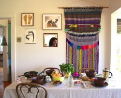 bohemianhomes:  Bohemian Homes: Come Dine with me :)