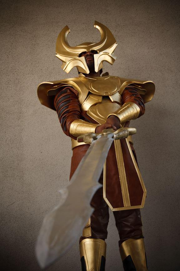 "thesuperherocostumingforum:  Heimdall - Thor Congratulations to Thomas, winner of The SCF's ""Most Epic"" Male Costume of 2012!"