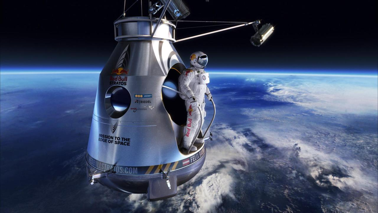 2012 Man of the Year: Felix Baumgartner