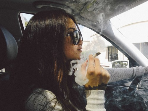 gypsyone:  Smoking + driving
