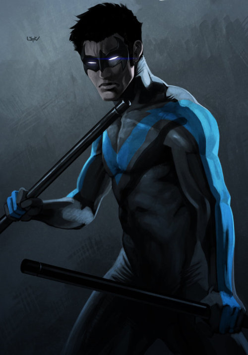 Nightwing by Wyv1