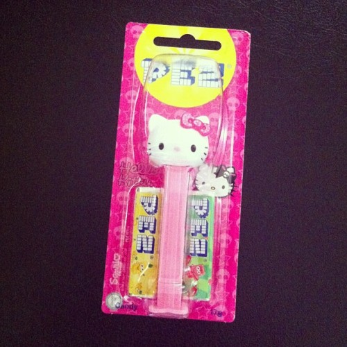 Why thank you…Cos I'm #asian #hellokitty #pezcomeback
