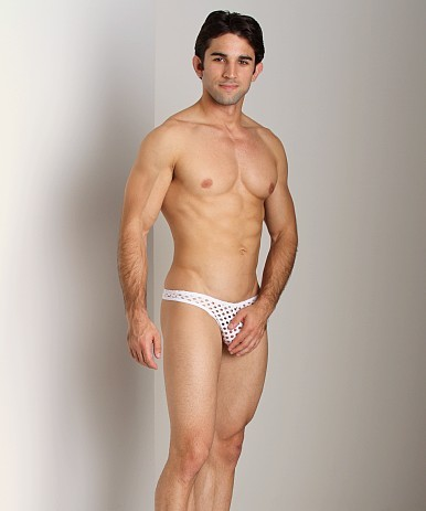 Tulio Lounge Shotgun Mesh Thong WhiteIf you've got nothing to hide, try on a pair of this mesh thong. The fabric has enough holes to…View Post