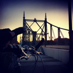 That time I biked to Jersey.  (at NJ State Line)