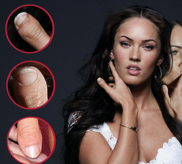 "Megan Fox - ""RIP Megan Fox"" wow. I think it meant ""RIP Megan Fox's Fingernail"""