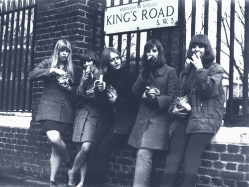 myvintagelondon:  King's Road, late 1960s