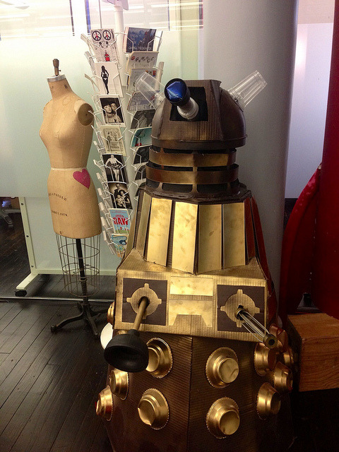 scottbeale:  Dalek at the YouTube Next Lab offices. on Flickr.