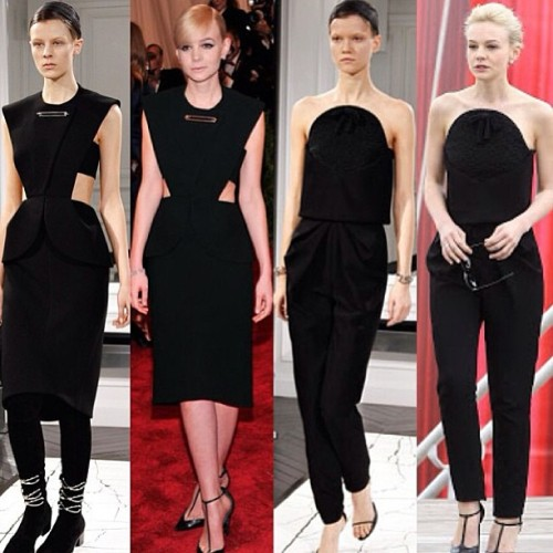 styleguyemman:  Ripped From The Runway #CareyMulligan in #Balenciaga #moda #fashion #womenswear #noir #cannesfilmfestival #glamour  👏👏👏👏