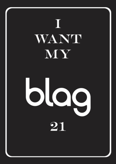 #BLAG21 reserve your copy over the next week to get surprise Birthday gifts with your edition.