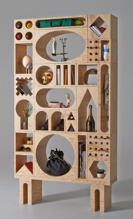 iamawalkingcontradiction:  ROOM COLLECTION FURNITURE SYSTEM BY ERIK OLOVSSON & KYUHYUNG CHO