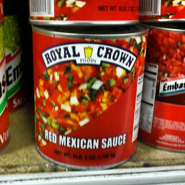 "I'm no mexican, but I believe that's called ""Salsa"". (at Smart & Final)"
